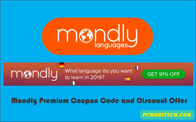 Mondly Premium Coupon & Deal Upto 94% Discount: August 2019