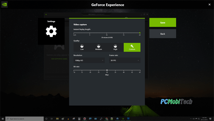 Geforce-NVIDIA-Game-Recording-Settings-Option-Main-Screen