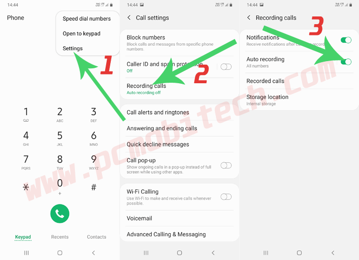 How to Record Calls in Samsung M30s Without any app?