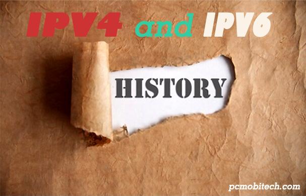IPV4-and-IPV6-History