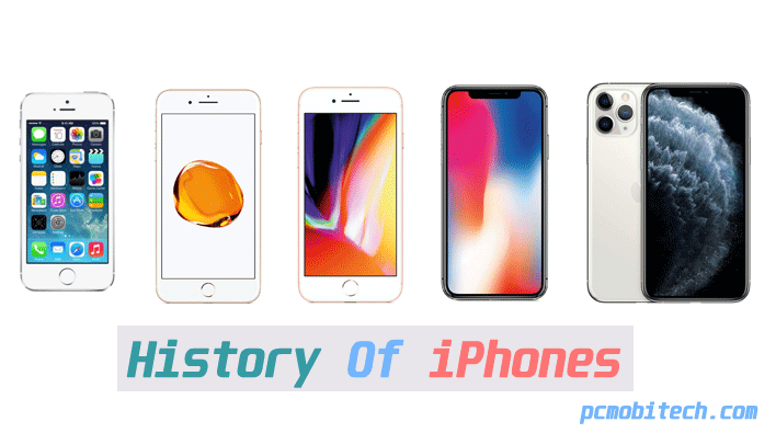 history-of-iphones