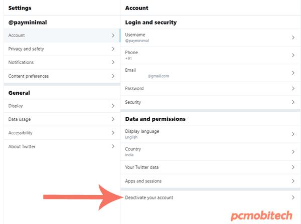Deactivate-your-twitter-Account