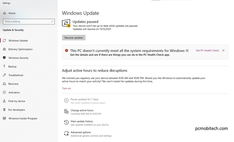 windows 11 update error in windows 10